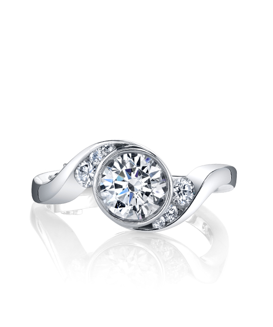 Diamond Engagement Rings - Engagement Ring - image #2