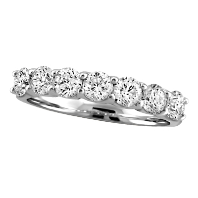 Diamond Anniversary Rings - Anniversary Ring