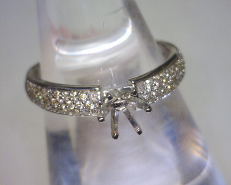 Diamond Semi-mount Rings - Ring - image 2