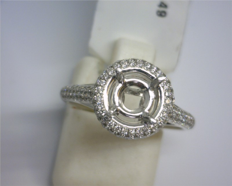 Diamond Semi-mount Rings - Ring - image #2