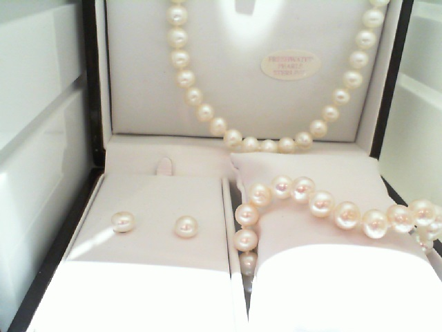 Pearl Necklace - Pearl Set - image #2