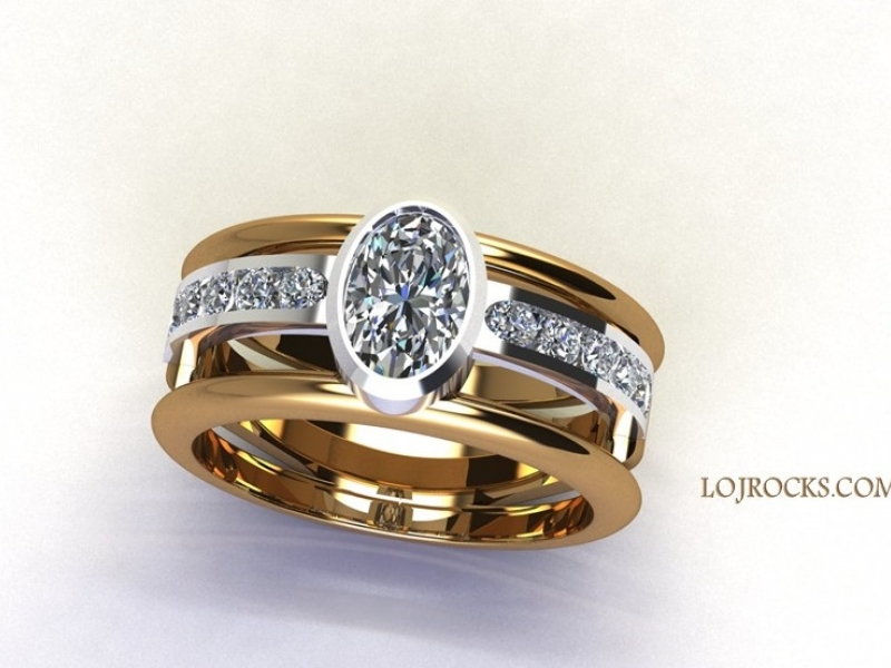 Designs by Bob Shinsky - Diamond Ring, Gracious