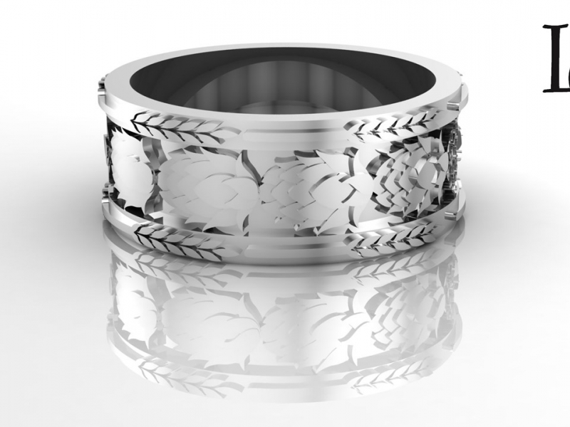 Beer Ring for the Beer Lover in Sterling Silver
