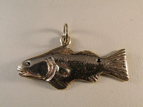fish - 10 karat yellow gold