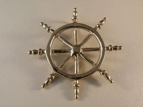 Captain Wheel - 14 karat yellow gold