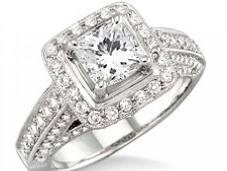 Bridal - white gold and diamond