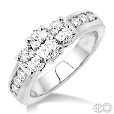 Bridal - white gold and diamonds