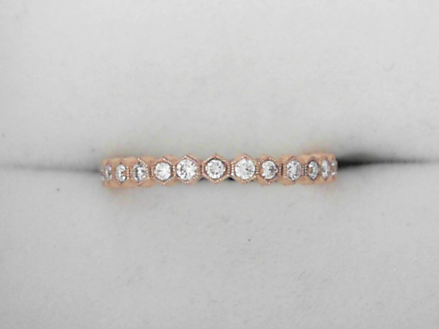 Women's Diamond Wedding Bands - Diamond Stack Band - image 2