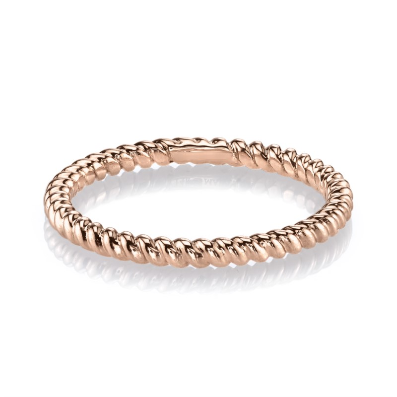 Women's Precious Metal (no Stones) Wedding Bands - Stackable Band