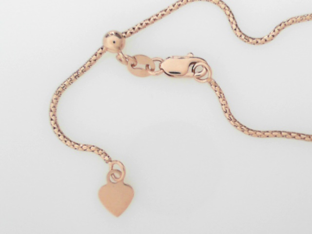 Precious Metal (no Stones) Chains - Rose Gold Chain - image #2