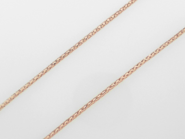 Precious Metal (no Stones) Chains - Rose Gold Chain