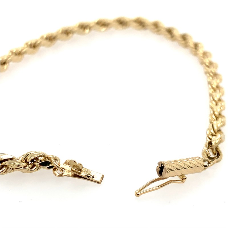 Estate Jewelry - Gold Bracelet - image #2
