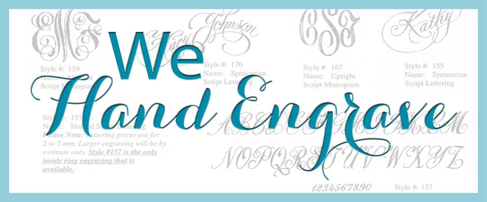 Homepage Banner - hand engrave