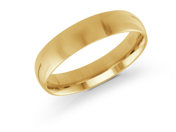 14k Yellow Gold Mens Wedding Band J 100 510g11 Wedding Bands From