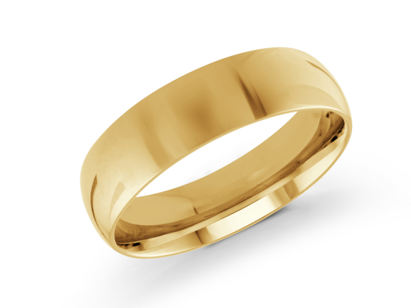 14k Yellow Gold Mens Wedding Band J 100 610g10 Wedding Bands From