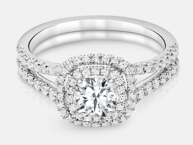 Discover the perfect diamond engagement ring at Don's Jewelry & Design in Washington, Iowa. Choose from princess c - image #2