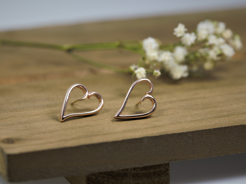 affordable custom earrings, local jeweler jewelry, ethical gold earrings