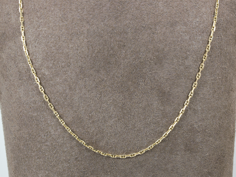 ANchor Link chain 14k chain. for women, chain, for men, unisex