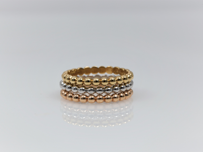 gold stackable rings, custom plain gold rings, quence rings, sweet 16 rings