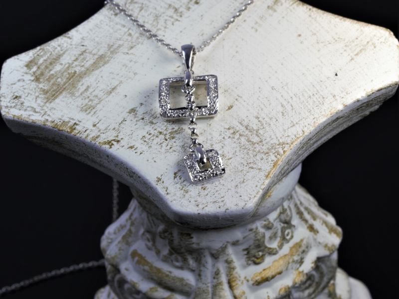Les Olson Jewelers offers pendants, chains, and necklaces that can include diamonds, cubic zirconia, and gemstones - image #3