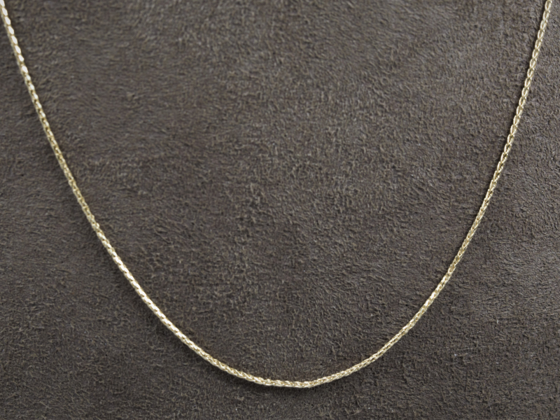 Diamond cut chain, dainty ladies chains, womens chains
