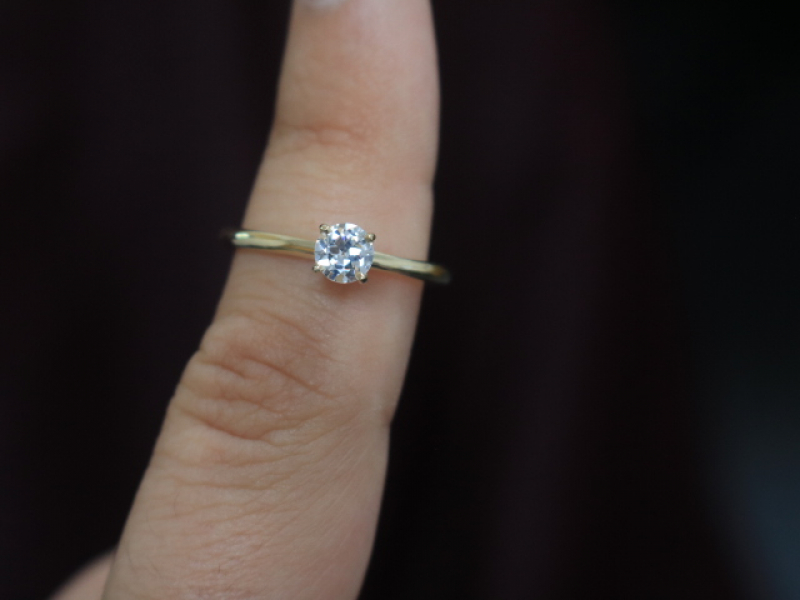 engage, solitaire diamond, ring under 2000