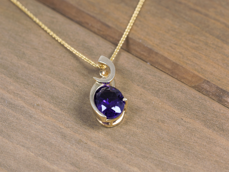 Les Olson Jewelers offers pendants, chains, and necklaces that can include diamonds, cubic zirconia, and gemstones - image #2