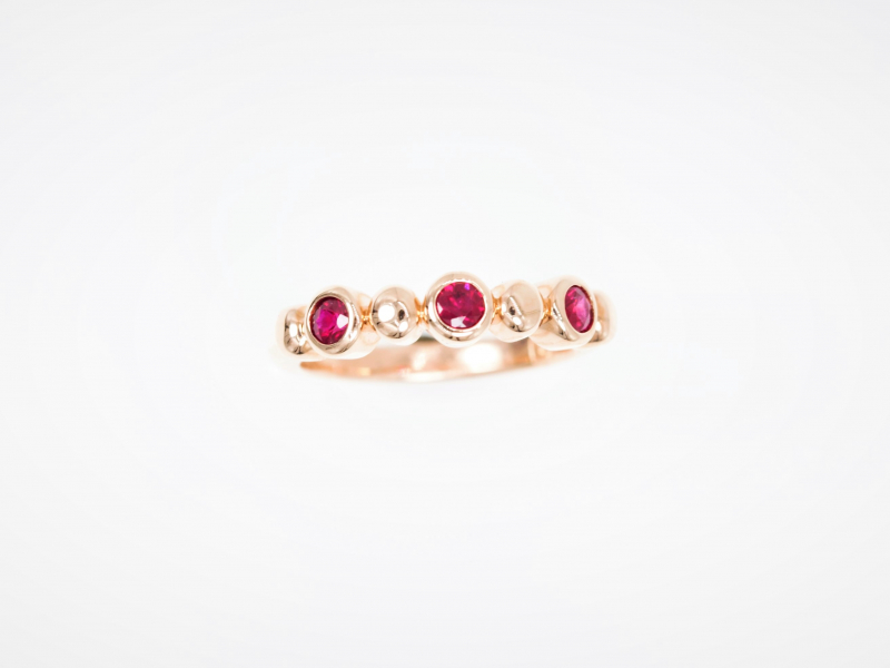 ruby ring, rubies, ruby band, ruby and gold ring