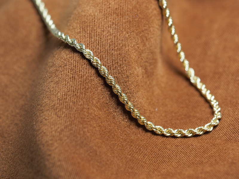 Our selection of the most durable and stylish gold chains for both men and women. Our collection features, curb, c - image #2