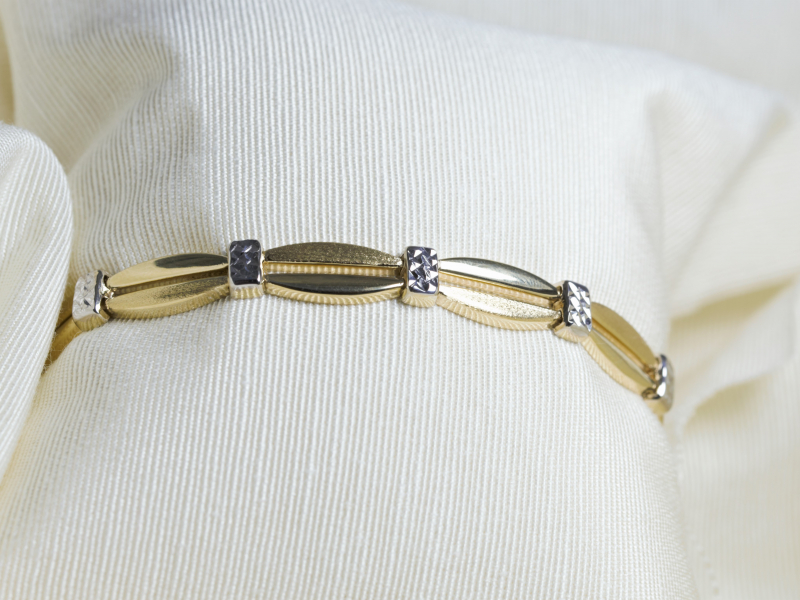 Men's and Women's bracelets in gold and silver. Designed and custom made bracelets in our Palm Harbor, Florida jew - image #3