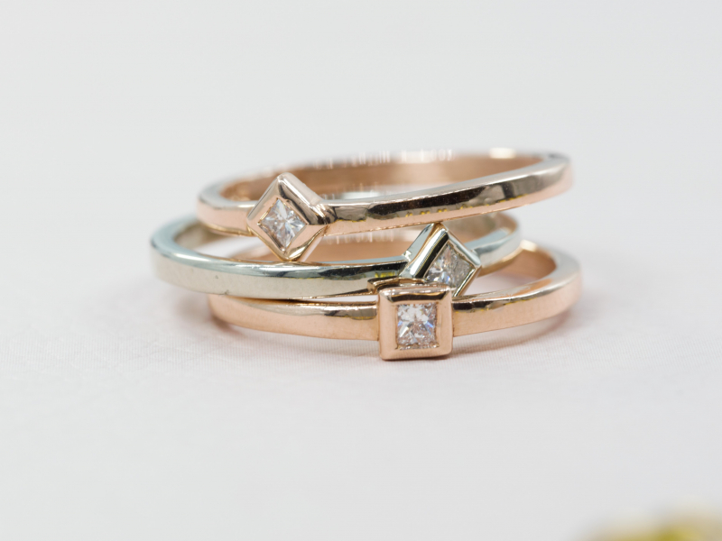 Rings in Diamond, Gemstone, Gold, Silver both designer and custom handmade are among our collection. - image #5