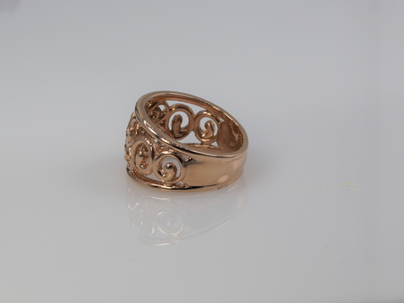 Rings - Rose Gold Sisterhood Ring - image 2