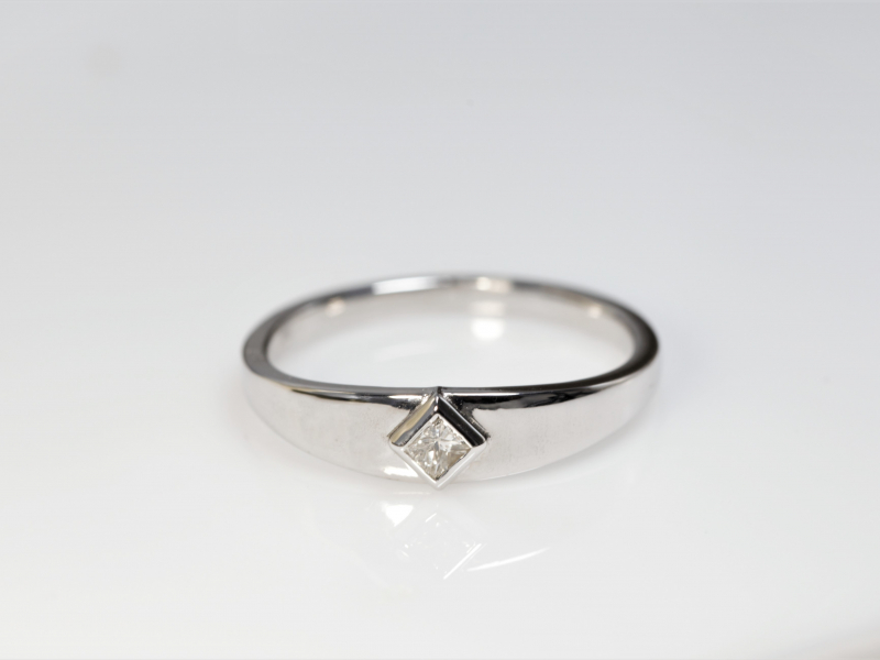 promise ring, cheap promise rings, 14k white gold promise ring, diamond promise ring