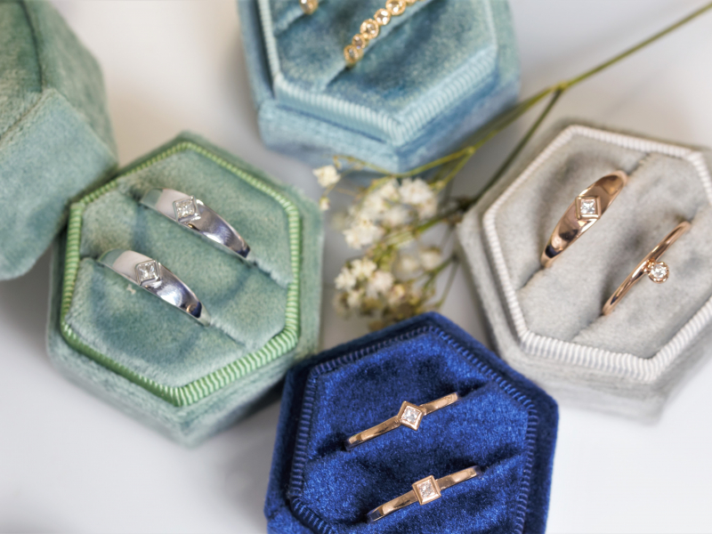 promise rings, quinceanera rings, 14k gold rings,  Rose Gold Stackable Kite Ring