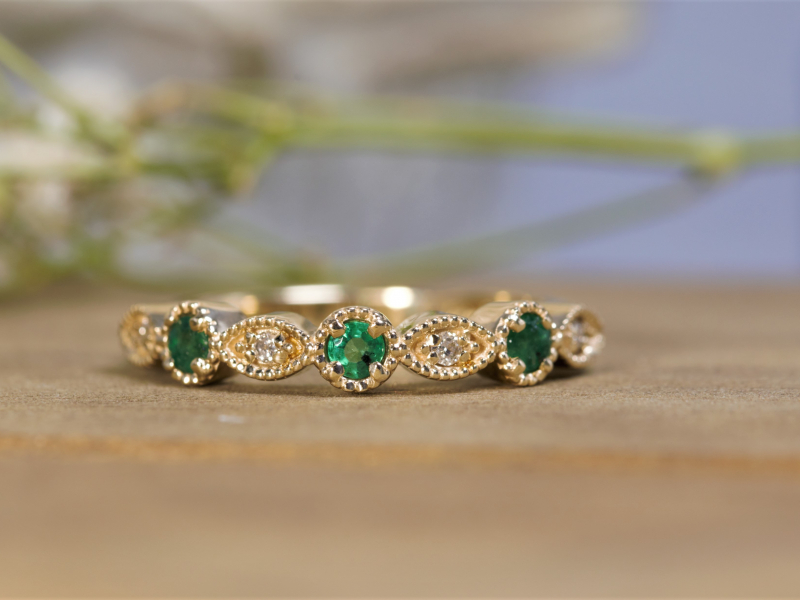 Diamond Rings in Gold and Platnium, Colorful Gemstone, Gold and Silver Rings. We Make Rings Custom on Site and can - image #2