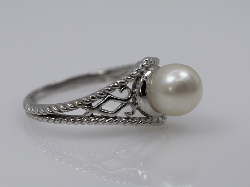 pearl| rings| white gold| affordable} filgree| classic| jewelry| rings