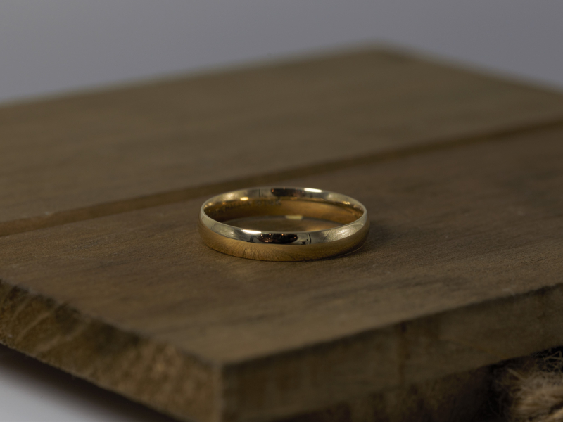 Unique Men's Wedding to Plain Gold Wedding Bands, We have something for everone. Fishing Wedding Bands for the Man - image #3