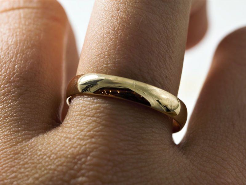 Unique Men's Wedding to Plain Gold Wedding Bands, We have something for everone. Fishing Wedding Bands for the Man - image #4