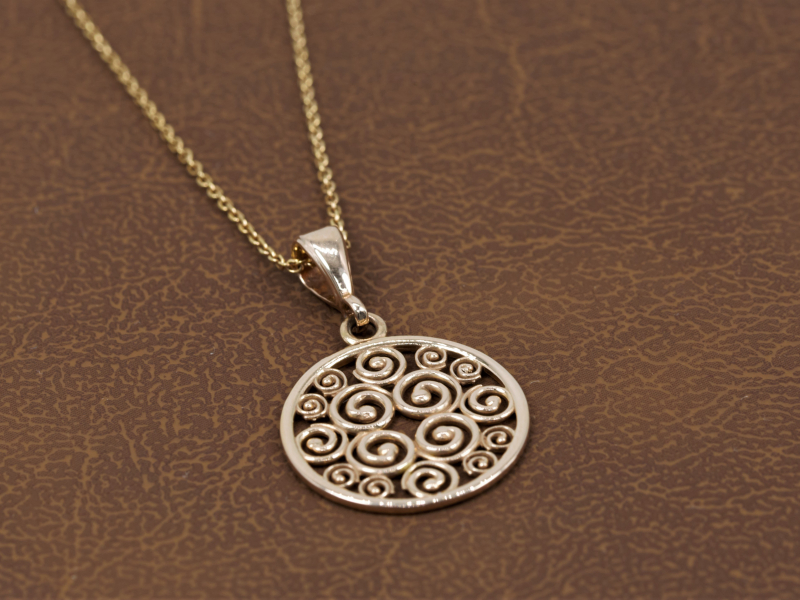 Pendants & Necklaces - Rose Gold Pendant, Small, Sisterhood Collection - image 3