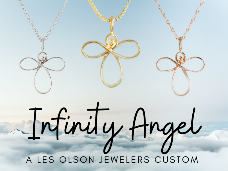 Les Olson Jewelers offers pendants, chains, and necklaces that can include diamonds, cubic zirconia, and gemstones - image #5