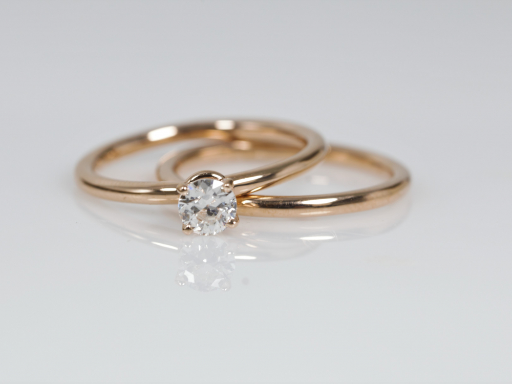 Rose Gold Simple Band Wedding Band 400 00741 Rings From Les Olson Jewelers Palm Harbor Fl