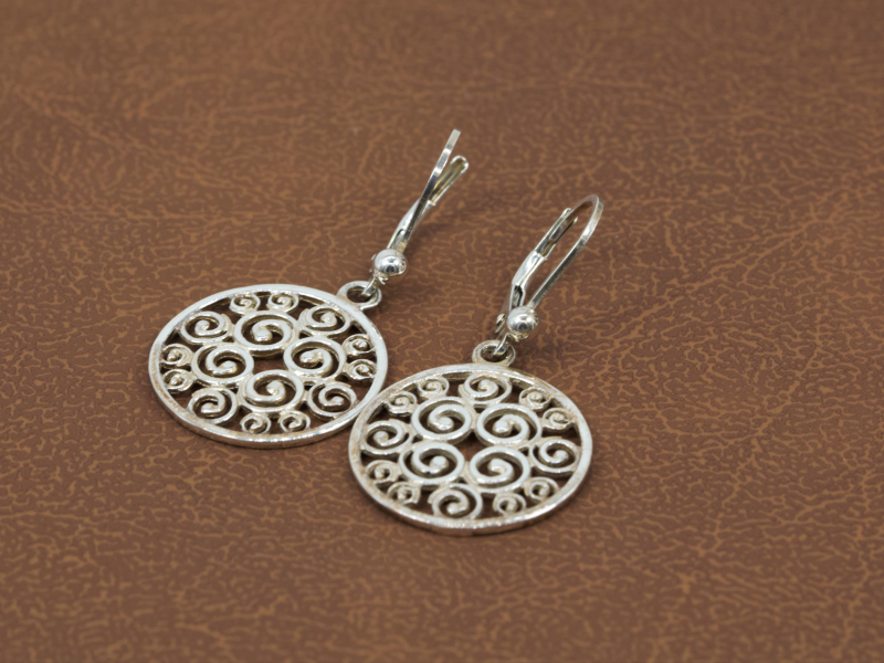 Earrings - Sterling Silver Earrings, Sisterhood Collection - image 3