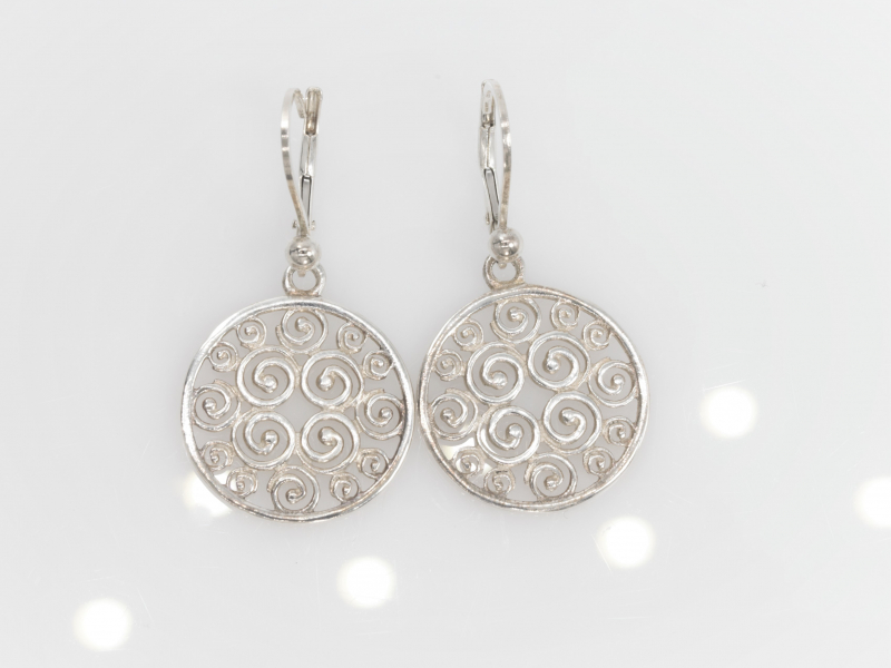 Sterling Silver Earrings supporting Cancer Research, Sisterhood Collection - Sterling Silver Earrings, Sisterhood Collection