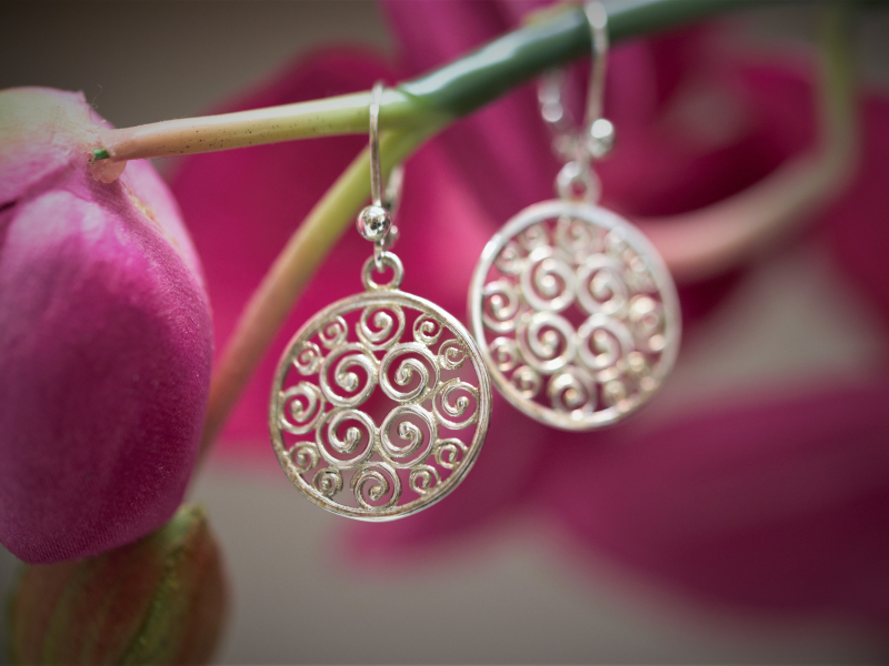 Earrings - Sterling Silver Earrings, Sisterhood Collection - image 4