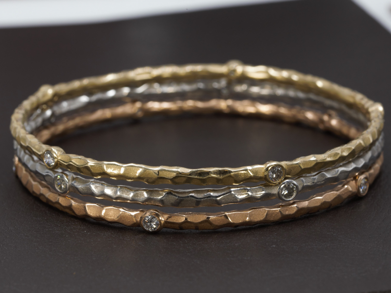 stack able bracelets, gold, luxury, stack bangles
