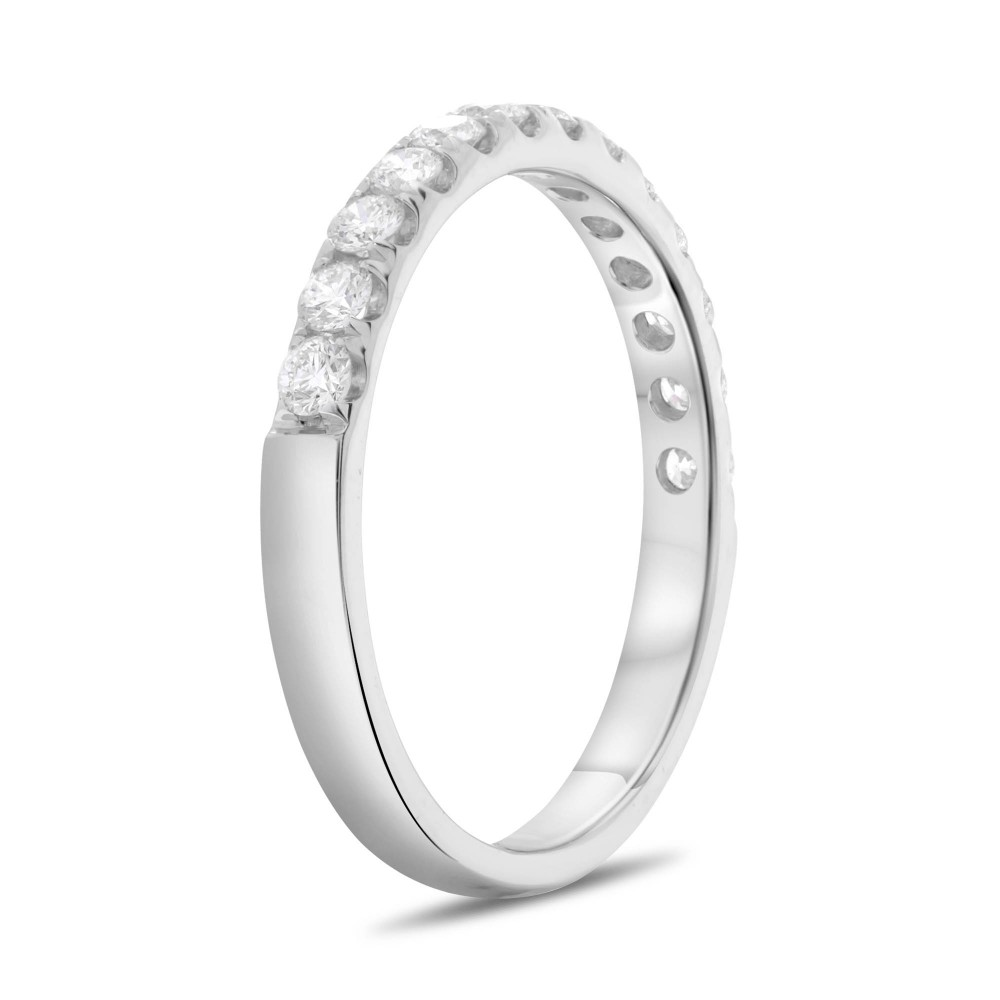 Women's Diamond Wedding Bands - Wedding Band - image #3