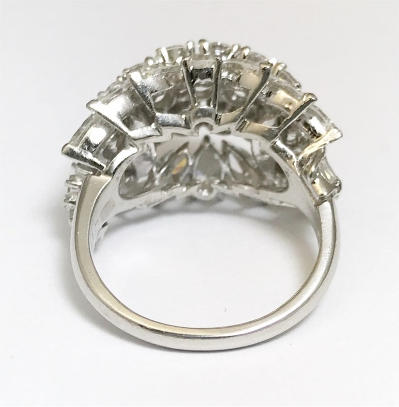 Women's Diamond Fashion Rings - Fashion Ring - image #4