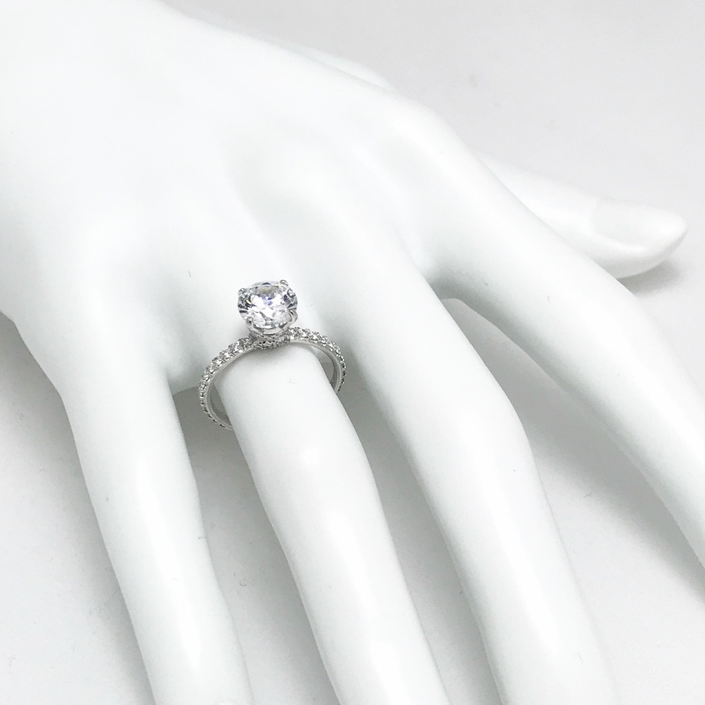 Diamond Semi-Mount Rings - Engagement Ring  - image 2