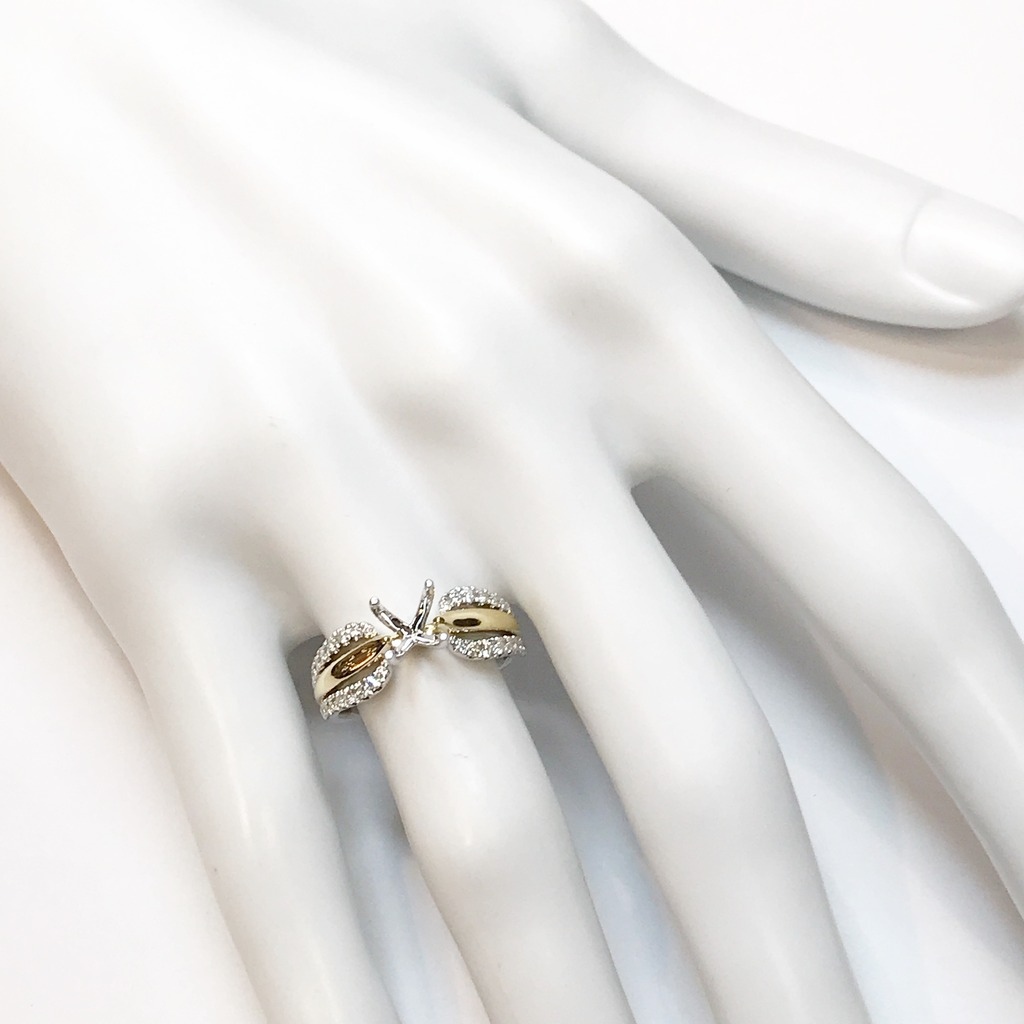 Diamond Semi-Mount Rings - Engagement Ring  - image #2
