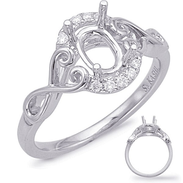 Diamond Semi-Mount Rings - Engagement Ring